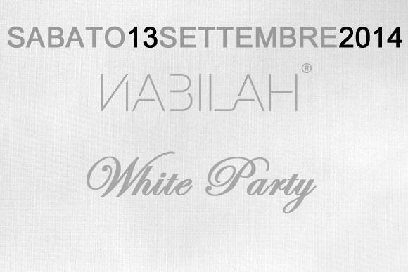 White Party al Nabilah Sabato 13 Settembre 2014