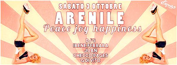 Arenile Reload Sabato 3 Ottobre 2015