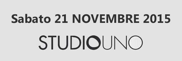 Sabato 21 Novembre 2015 Fabulab allo STUDIO UNO