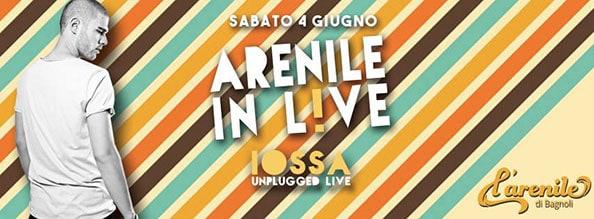 Sabato 4 Giugno 2016 Iossa Live e Dj Set all'Arenile Reload