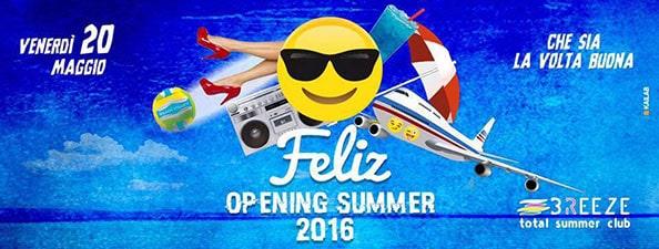 Venerdì 20 Maggio 2016 inaugurazione del Breeze a Licola