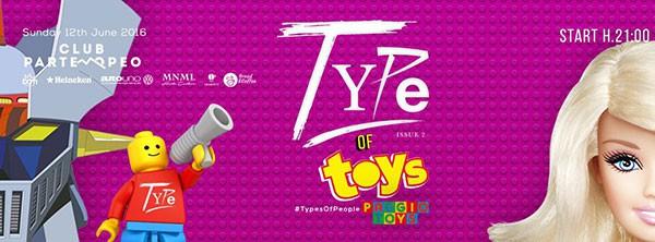 Club Partenopeo Domenica 12 Giugno 2016 serata TYPE