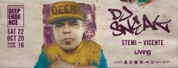 Dj Sneak al Living Club a Varcaturo