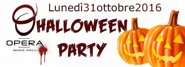 Festa di Halloween 2016 all'Opera a Pozzuoli
