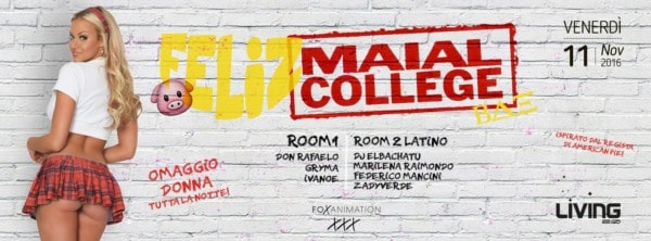 Serata Maial College al Living a Varcaturo