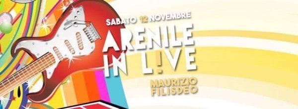Maurizio Filisdeo all'Arenile Reload Sabato 12 Novembre 2016